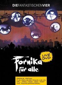 Cover Die Fantastischen Vier - Fornika für alle [DVD]